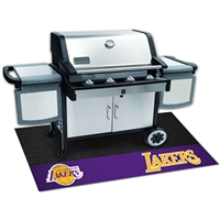 Los Angeles Lakers NBA Vinyl Grill Mat(26x42)