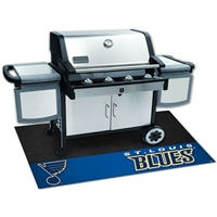 St. Louis Blues NHL Vinyl Grill Mat(26x42)