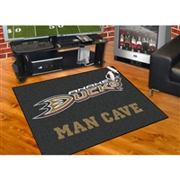 Anaheim Ducks NHL Man Cave All-Star Floor Mat (34in x 45in)