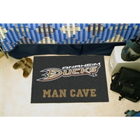 Anaheim Ducks NHL Man Cave Starter Floor Mat (20in x 30in)