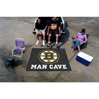 Boston Bruins NHL Man Cave Tailgater Floor Mat (60in x 72in)