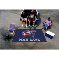 Columbus Blue Jackets NHL Man Cave Ulti-Mat Floor Mat (60in x 96in)