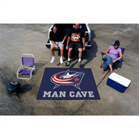 Columbus Blue Jackets NHL Man Cave Tailgater Floor Mat (60in x 72in)