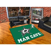 Dallas Stars NHL Man Cave All-Star Floor Mat (34in x 45in)