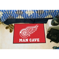 Detroit Red Wings NHL Man Cave Starter Floor Mat (20in x 30in)