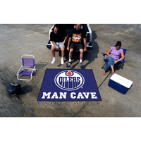 Edmonton Oilers NHL Man Cave Tailgater Floor Mat (60in x 72in)