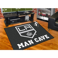 Los Angeles Kings NHL Man Cave All-Star Floor Mat (34in x 45in)