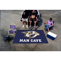 Nashville Predators NHL Man Cave Ulti-Mat Floor Mat (60in x 96in)