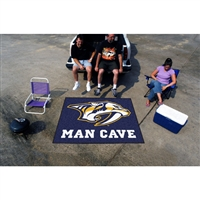 Nashville Predators NHL Man Cave Tailgater Floor Mat (60in x 72in)