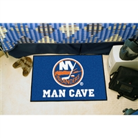 New York Islanders NHL Man Cave Starter Floor Mat (20in x 30in)