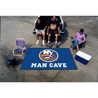 New York Islanders NHL Man Cave Ulti-Mat Floor Mat (60in x 96in)