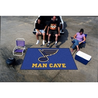 St. Louis Blues NHL Man Cave Ulti-Mat Floor Mat (60in x 96in)