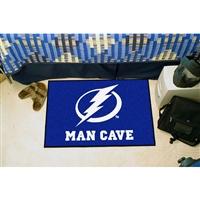 Tampa Bay Lightning NHL Man Cave Starter Floor Mat (20in x 30in)