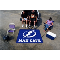 Tampa Bay Lightning NHL Man Cave Tailgater Floor Mat (60in x 72in)