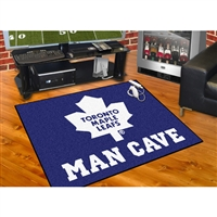 Toronto Maple Leafs NHL Man Cave All-Star Floor Mat (34in x 45in)