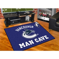 Vancouver Canucks NHL Man Cave All-Star Floor Mat (34in x 45in)