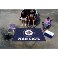 Winnipeg Jets NHL Man Cave Ulti-Mat Floor Mat (60in x 96in)