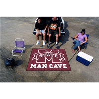 Mississippi State Bulldogs NCAA Man Cave Tailgater Floor Mat (60in x 72in)