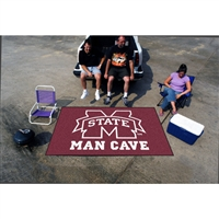 Mississippi State Bulldogs NCAA Man Cave Ulti-Mat Floor Mat (60in x 96in)