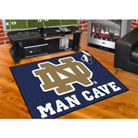 Notre Dame Fighting Irish NCAA Man Cave All-Star Floor Mat (34in x 45in)