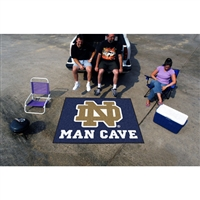 Notre Dame Fighting Irish NCAA Man Cave Tailgater Floor Mat (60in x 72in)
