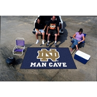 Notre Dame Fighting Irish NCAA Man Cave Ulti-Mat Floor Mat (60in x 96in)
