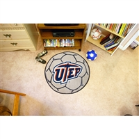 UTEP Miners NCAA Soccer Ball Round Floor Mat (29)