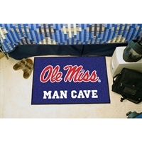 Mississippi Rebels NCAA Man Cave Starter Floor Mat (20in x 30in)