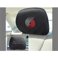 Portland Trail Blazers NBA Polyester Head Rest Cover (2 Pack)