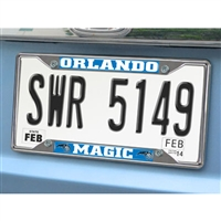 Orlando Magic NBA Chrome License Plate Frame