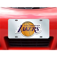 Los Angeles Lakers NBA License Plate Inlaid