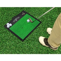San Antonio Spurs NBA Golf Hitting Mat (20in L x 17in W)
