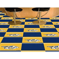 Nashville Predators NHL Team Logo Carpet Tiles