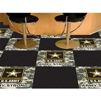 Army Black Knights NCAA Team Logo Carpet Tiles