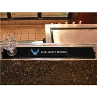 Air Force Falcons NCAA Drink Mat (3.25in x 24in)