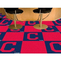 Cleveland Indians MLB Team Logo Carpet Tiles