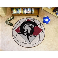 Arkansas Little Rock Trojans NCAA Soccer Ball Round Floor Mat (29)