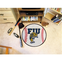 Florida International Golden Panthers NCAA Baseball Round Floor Mat (29)