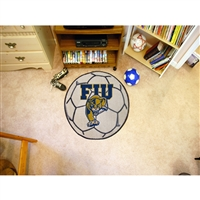 Florida International Golden Panthers NCAA Soccer Ball Round Floor Mat (29)