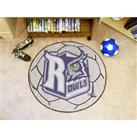 Rice Owls NCAA Soccer Ball Round Floor Mat (29)