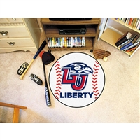 Liberty Flames NCAA Baseball Round Floor Mat (29)