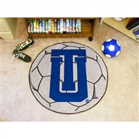 Tulsa Golden Hurricanes NCAA Soccer Ball Round Floor Mat (29)