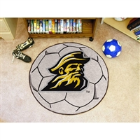 Appalachian State Mountaineers NCAA Soccer Ball Round Floor Mat (29)