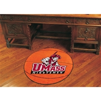 Massachusetts Minutemen NCAA Basketball Round Floor Mat (29)