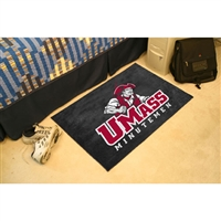 Massachusetts Minutemen NCAA Starter Floor Mat (20x30)
