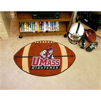 Massachusetts Minutemen NCAA Football Floor Mat (22x35)
