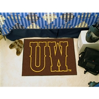 Wyoming Cowboys NCAA Starter Floor Mat (20x30)