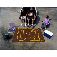 Wyoming Cowboys NCAA Ulti-Mat Floor Mat (5x8')