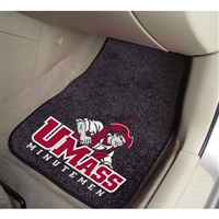 Massachusetts Minutemen NCAA Car Floor Mats (2 Front)
