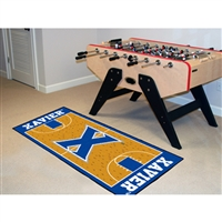 Xavier Musketeers NCAA Court Runner (24x44)